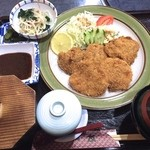 味処友 - 料理写真:ヒレカツ定食