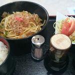 コーヒー&キッチンゴンネ - 料理写真:焼うどん定食