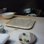 すずき - 宍道湖の白魚は天ぷらに