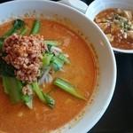 34897116 - ランチセット●担々麺、ミニ麻婆豆腐丼