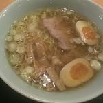 夢館 - 和風らーめん(小)(720円)に味玉(100円)