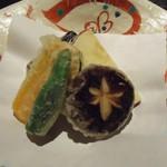 琴平花壇 - 旬野菜の天麩羅