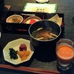 琴平花壇 - 朝食