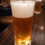 屏南 - 生ビール
