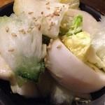 旬彩料理 GENKI屋 - 白菜漬けもの