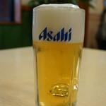 空天丼ありがとう本舗 - 生ビール(500円)