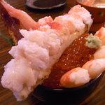 日野亭 - 生タラバガニ丼