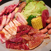 炭火焼肉 ぎゅうはん - 料理写真:お肉盛り合わせ(2~3人前)