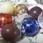 リンツ ショコラ カフェ - リンドール3種類☆