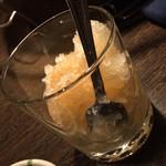 焼肉高麗 - 凍結梅酒 450円