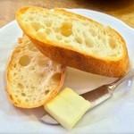 34901935 - セットのパンはアーブルさんのバゲット!(2015.02)