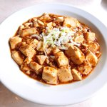 三九厨房 - 麻婆豆腐セット 500円 の麻婆豆腐