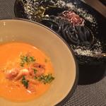 34902647 - 海老のパスタつけ麺
