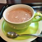 カフェ ブラン - ドリンク写真:ホットチョコレート