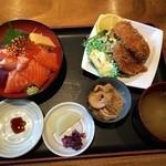 34905224 - 乙女丼 フライ付