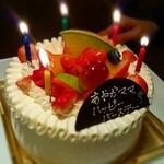 長津田農場 - 誕生日ケーキ♪