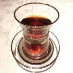 サライ - <'15/02/08撮影>ドネルビーフケバブスペシャルセット 1000円 の紅茶