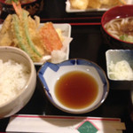 34907241 - 天ぷら定食 750円