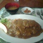 レストラン真珠 - カツカレーは懐かしの味
