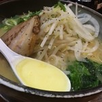 らーめん 次男坊 - 濃厚鶏パイタン野菜ラーメン