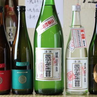◆日本酒好きな店主厳選◆旬ものからレアものまで続々入荷中