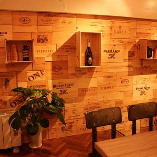 DIESELのデザインチームが手掛けるカジュアルに寛げる空間