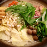 炊き餃子と唐揚げ とき家 - 塩ちゃんこ鍋