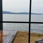 珈琲館 - 宍道湖を眺めながら