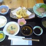 ふみ屋 - ¥1000(税込) イワシの天ぷら定食