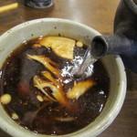 大はし - 蕎麦湯は自然体