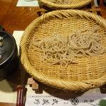 3492015 - 茨城県金砂郷の常陸秋蕎麦の蕎麦 石臼挽細挽き蕎麦 河南の辛味大根