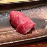 いっかん - お好み寿司:中トロ重ねにぎり