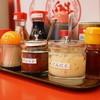 ラーメン魁力屋 - 料理写真:ここにもニンニクはあります。