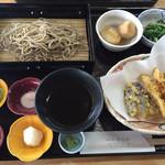 勇次郎 - 料理写真:天ざる