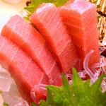 寿司 大漁旗 - インドマグロ中トロ