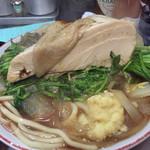 自家製麺キリンジ - 2015/1/21セリラーメンの肉塊を出してみた^ ^