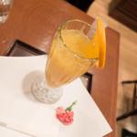 武蔵野茶房 - オレンジ果汁
