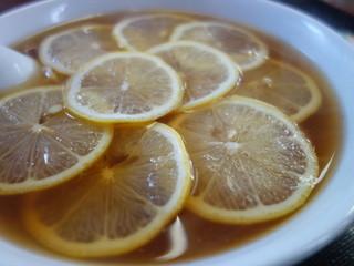 三太郎 - レモンの輪切り。