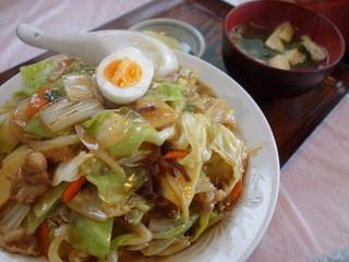 ジャスミン - 中華丼(¥600税込み)たった¥600ですがボリュームがあります