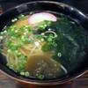 五島うどん - 料理写真:「五島うどん」550円