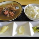 伊江牛 - 牛汁定食