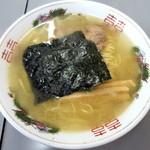 まるたかラーメン - かつお塩ラーメン_820円