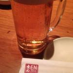 34929279 - キリン一番搾り 樽生ビール(590円)