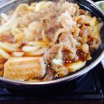 丸亀製麺 - すき焼きうどん