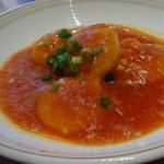 中国料理 梨杏 - 海老のチリソース煮込み