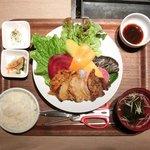 ベジピッグ - 4色サムギョプサルランチ 500円