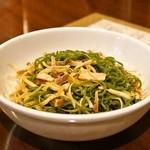 龍口酒家 - 2015.2 里麺(リーメン)特製和え麺(826円)