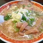 らー麺 晄 - しおラーメン720円