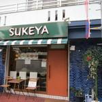 34936494 - 箱崎宮前駅近くの住宅街の中にある手作りハンバーガーの店です。