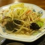テンホウ - 定食の野菜炒め